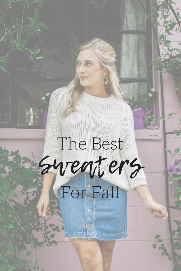 The Best Sweaters for Fall | Wooden Ships Knits | Fall Fashion | Fall Sweaters | Fall Trends | Knit Sweaters