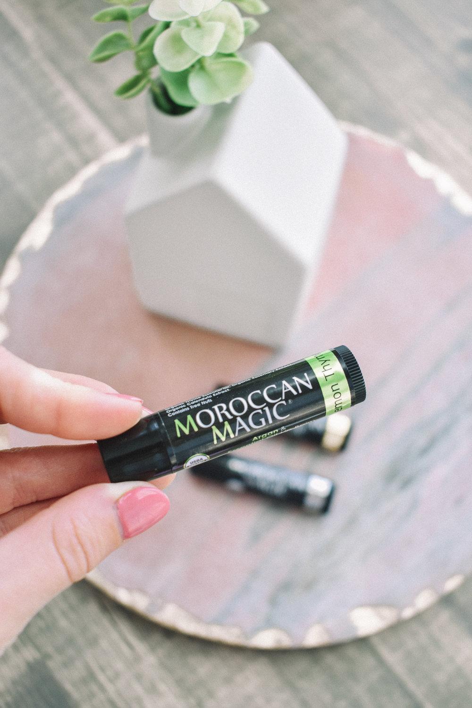 Fall Beauty Product Must Haves | Clean Beauty Blogger | Beauty Blogger | Beauty Products | Moroccan Magic Lip Balm | Argan Oil | Organic Beauty