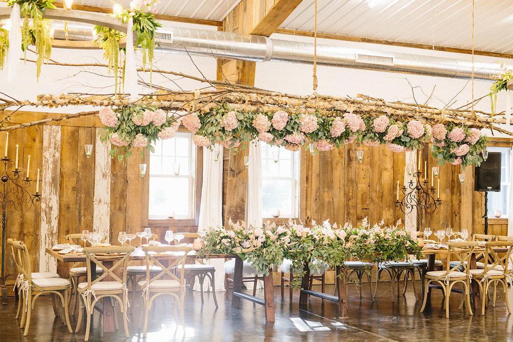 18' Custom-Made Wedding Party Table
