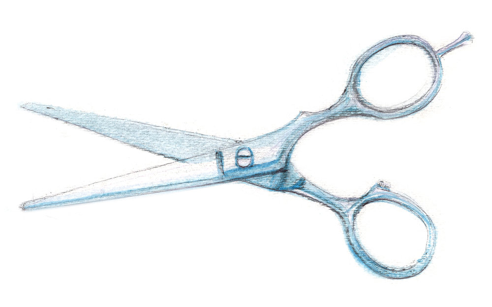 SCISSORS Roots Beauty Salon Cuts