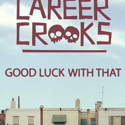 #Repost @smallpro ・・・ Out today via the good folks at @urbnet: the debut full-length player from @zillarocca & i as #CareerCrooks, a villainous pair of really nice boys who just happen to be on the wrong side of the law: https://careercrooks.bandcamp.com/album/good-luck-with-that ##urbnet #smallprofessor #zillarocca #southphilly #rap #hiphop #noirhop #cassette #cassettetapes #rapcassettes #wreckingcrew