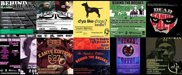 Our first 10 competitions: Fela, Marvin vs Stevie, Snatch, Coolie High, Dead Presidents, Prince, Kanye, Mobb Deep, Outkast, Rza.