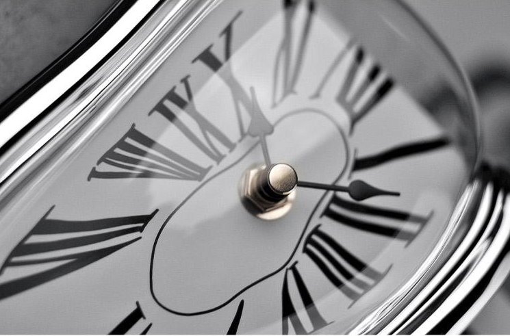inspired bysalvador dali - Give your works pace or any room in your home a surreal feel with this novel, trendy and trippy decor timepiece.