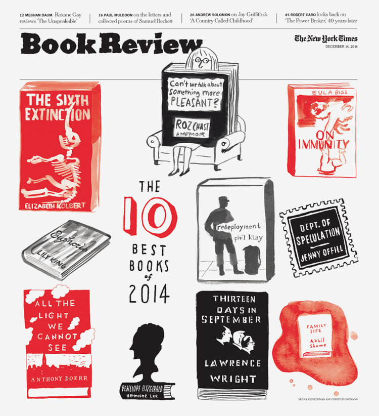 Book Review Country Called Childhood By >> The New York Times Book Review Nicholas Blechman
