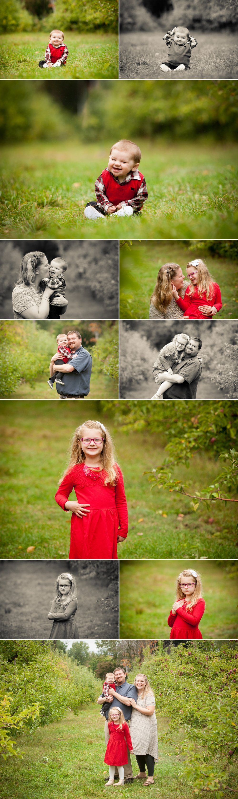 Chelmsford MA Family Photographer Hill Orchard
