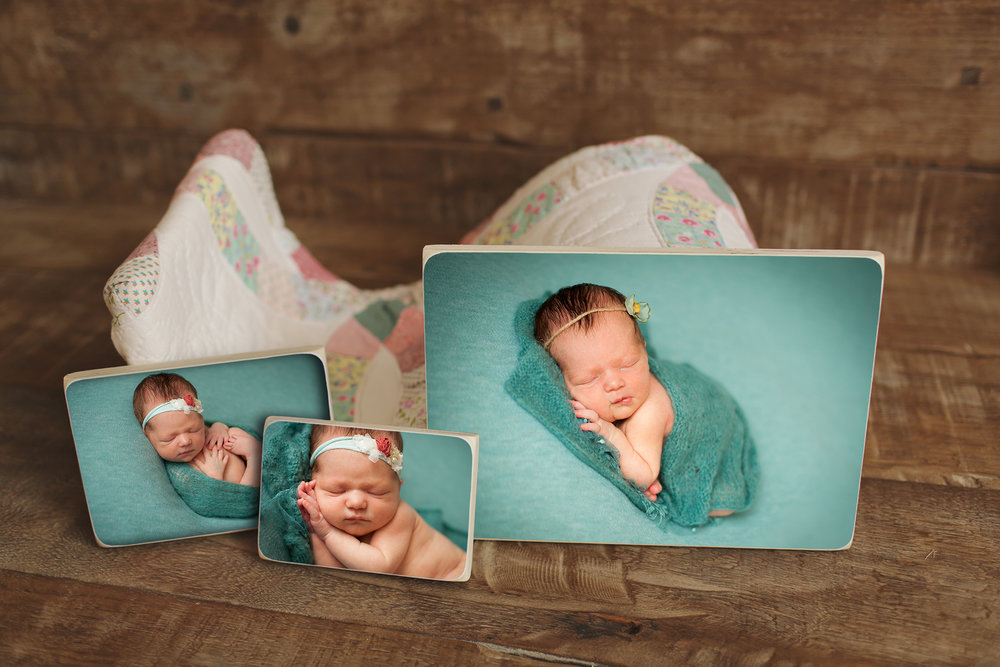 wood print Lowell massachusetts baby photographer alison heckard