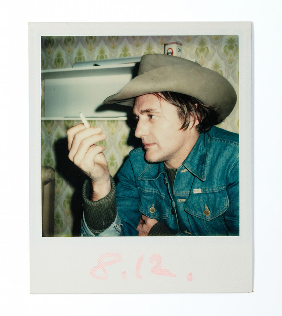 Wim Wenders Polaroid - Dennis Hopper