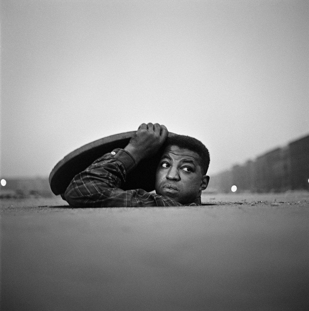 The Invisible Man, Harlem, New York, 1952 © Gordon Parks