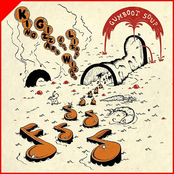 Gumboot Soup - King Gizzard & The Lizard WizardFlightless RecordsDezembro/2017Rock Psicodélico, Garage Rock, ExperimentalO que achamos: Muito BomTimbre Recomenda