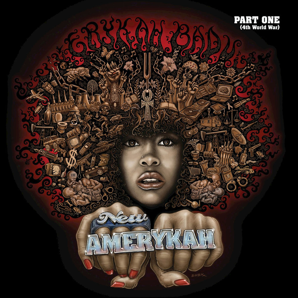 New Amerykah Part One (4th World War)  - Erykah BaduMotownFevereiro/2008Neo SoulO que achamos: Muito Bom