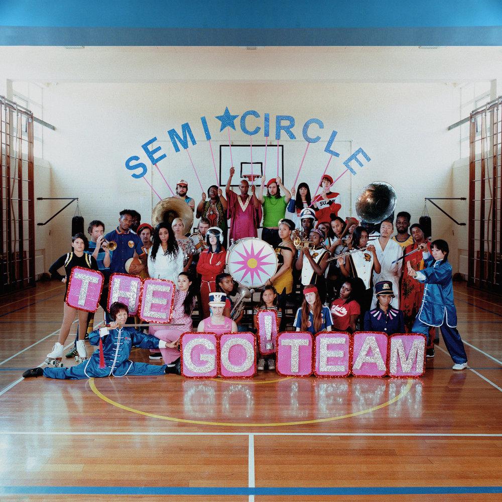 SEMICIRCLE - The Go! TeamMemphis IndustriesJaneiro/2018Indie Pop, Indie RockO que achamos: Bom