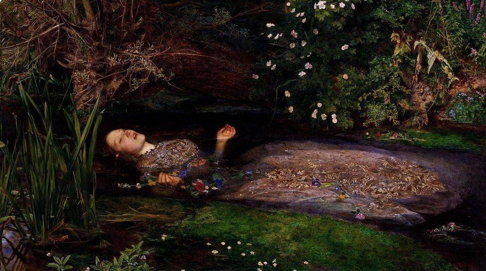 """Ophelia"", de John Everett Millais"