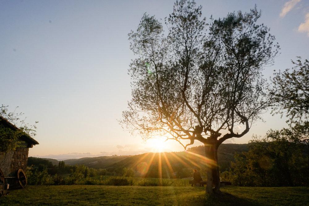 tuscany-agriturismo-sunset