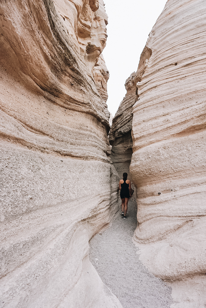 Kasha Katuwe Tent Rocks Slot Canyon Trail hike