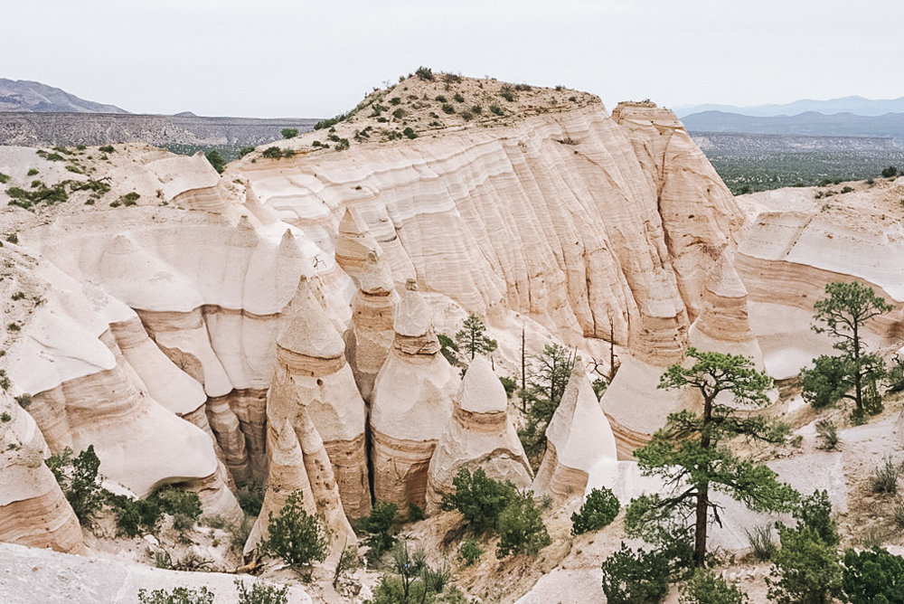 Hike Hoodoos Tent Rocks Canyon Trail Kasha Katuwe