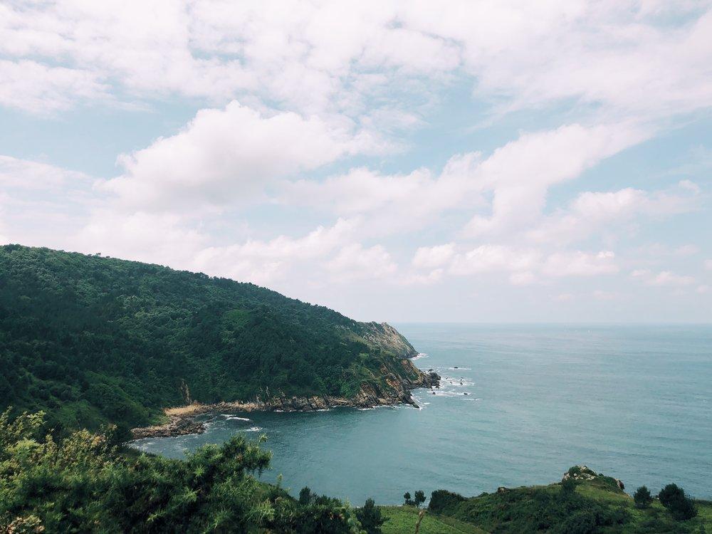 San Sebastian coast hike