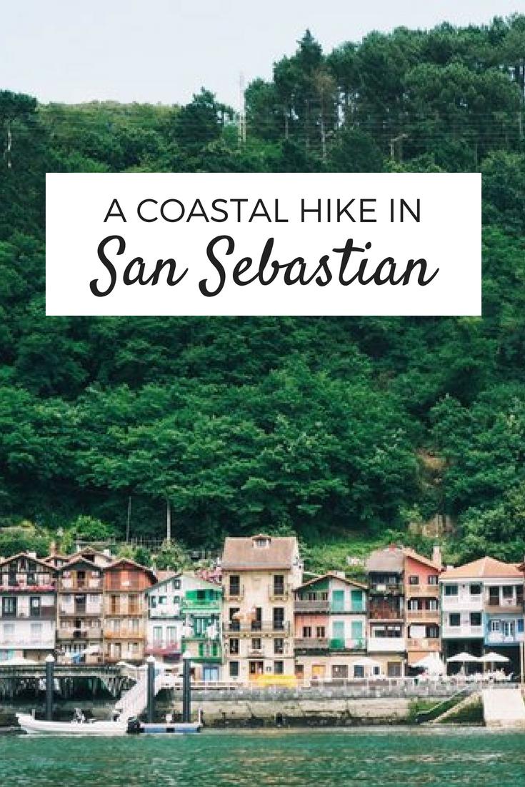 A beautiful coastal hike from San Sebastian to Pasajes de San Juan hike