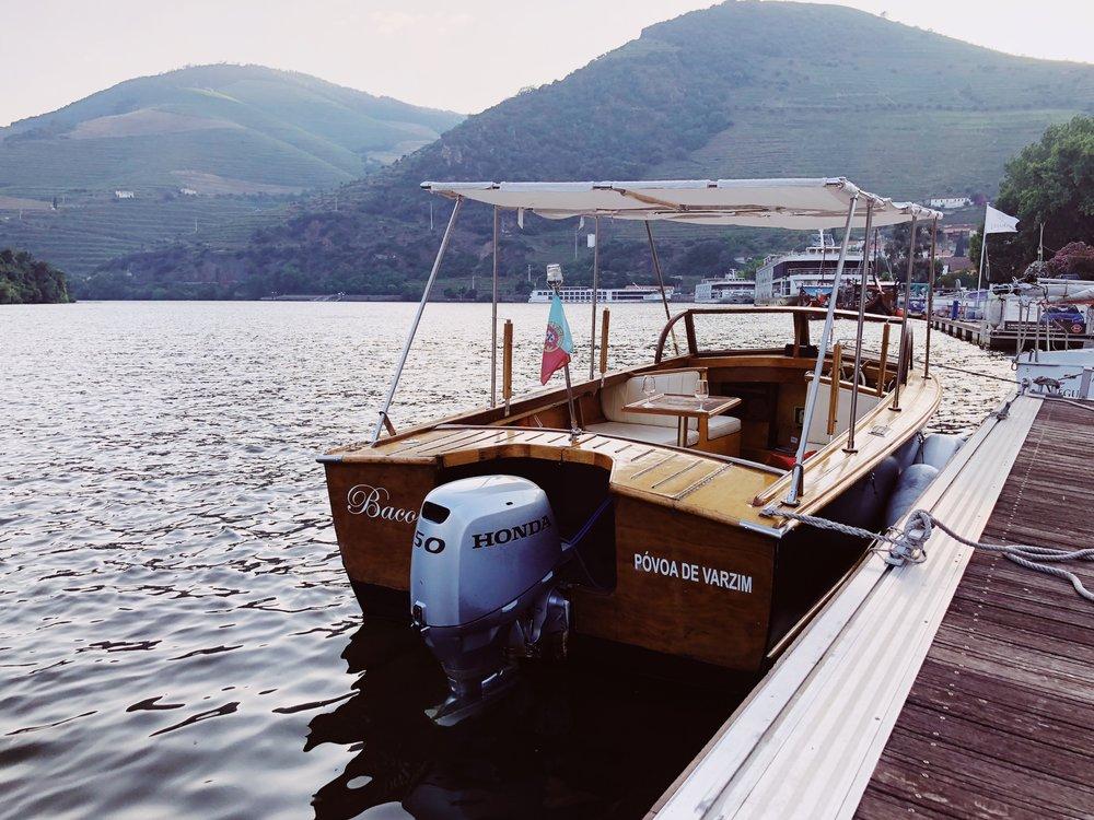Anima Durius Douro River sunset boat cruise