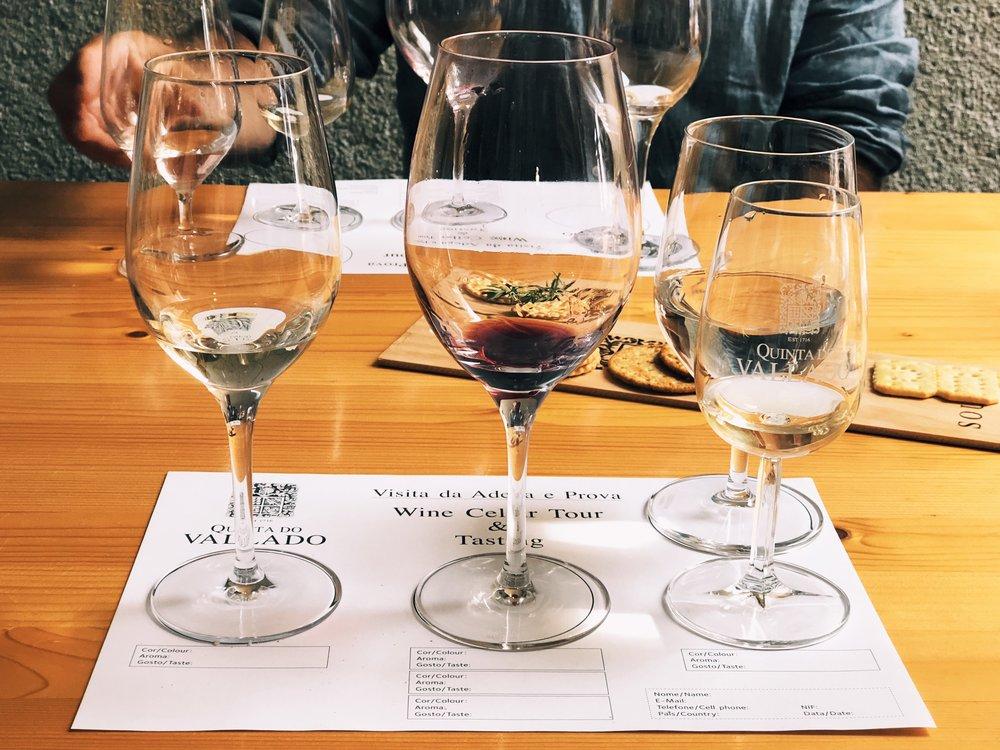 Quinta do Vallado Douro Valley wine tasting