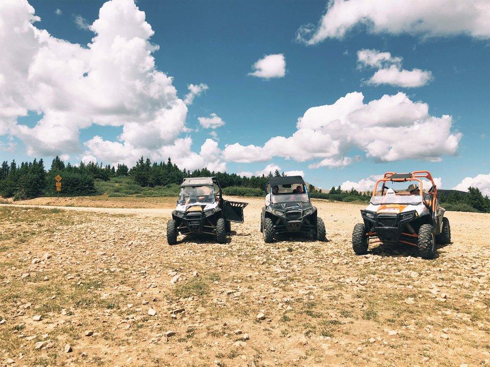 off roading vehicles Buena Vista Colorado
