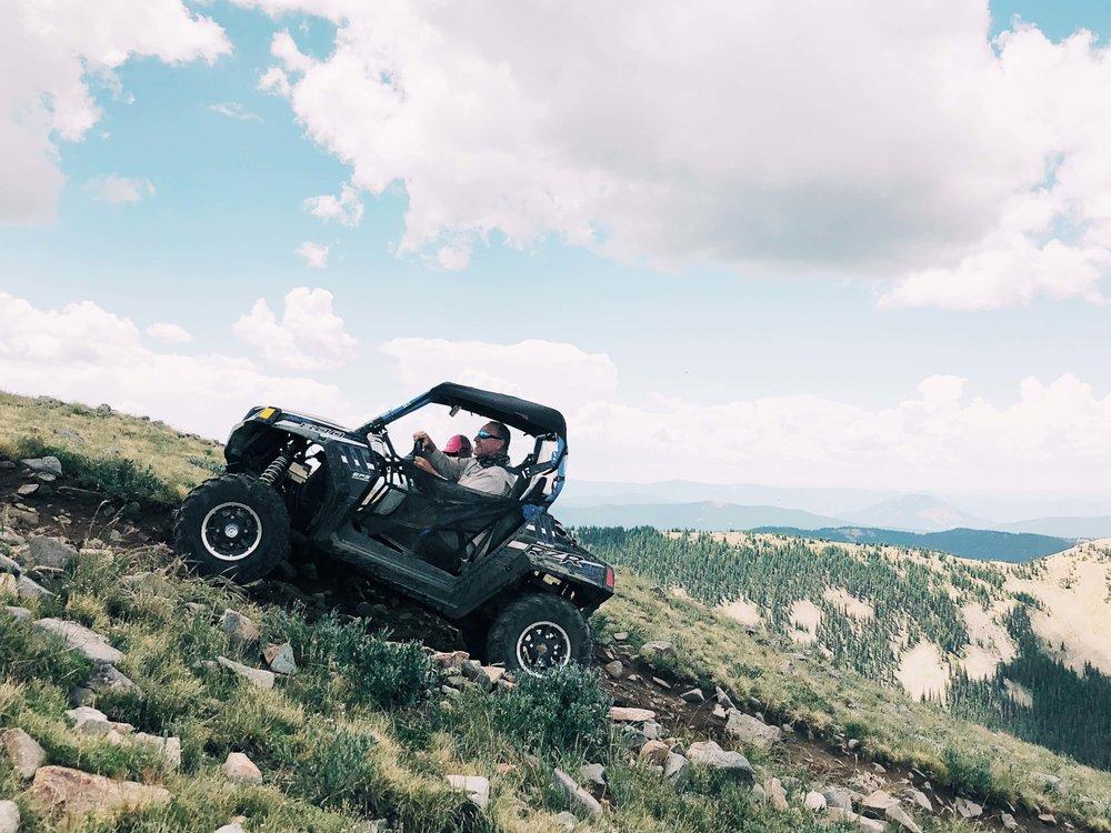 ATV adventure trail Colorado
