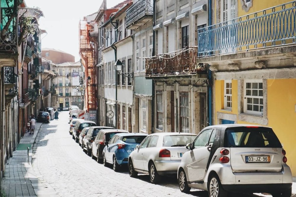 colorful streets of Porto