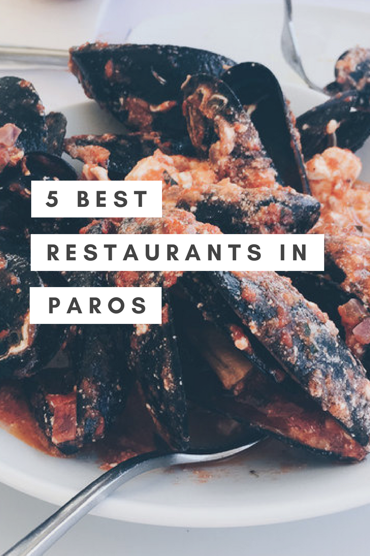 Where to Eat - Best Restaurants in Paros Greece