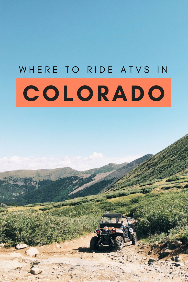Where to Ride ATVs in Colorado