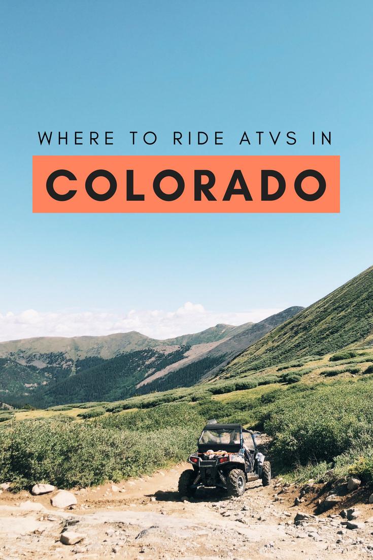 Where to Ride ATVs in Colorado