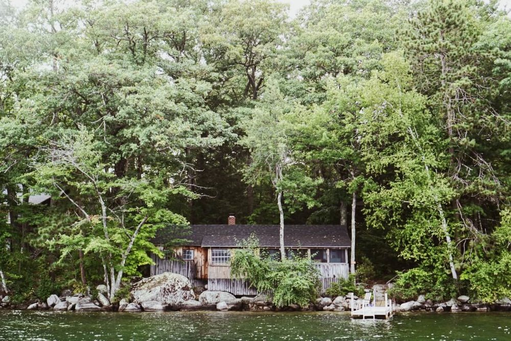Ark cabin at Rockywold-Deephaven Camps Squam