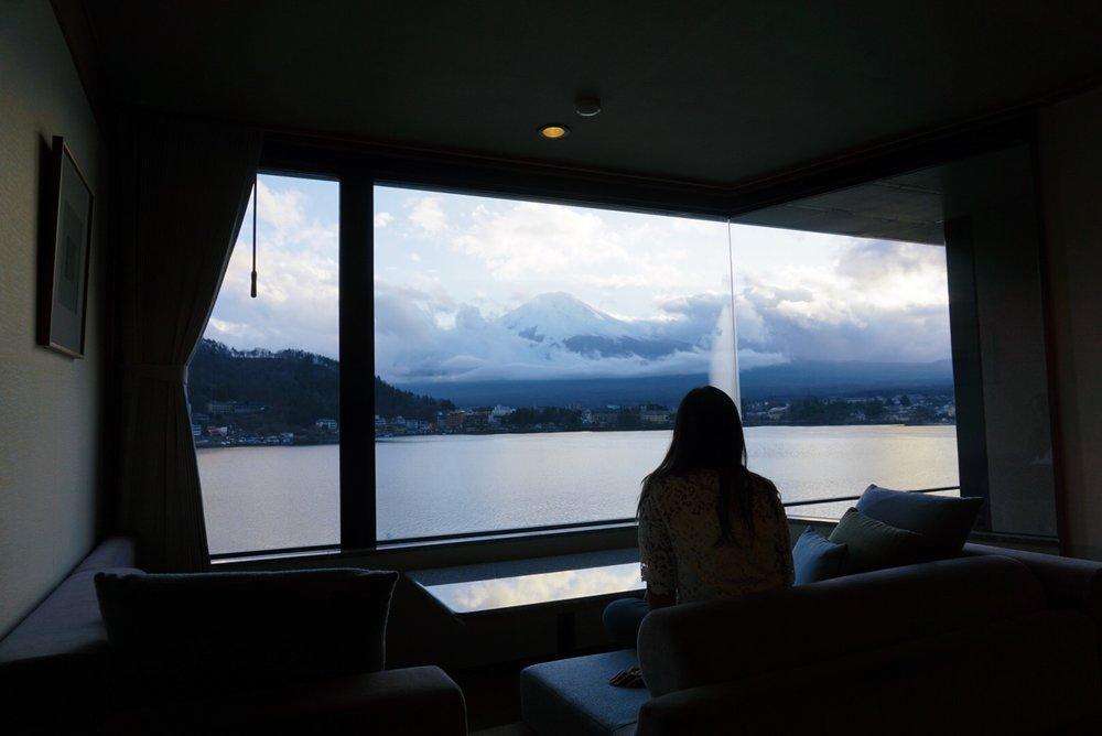 Mt. Fuji view room Kozantei Ubuya