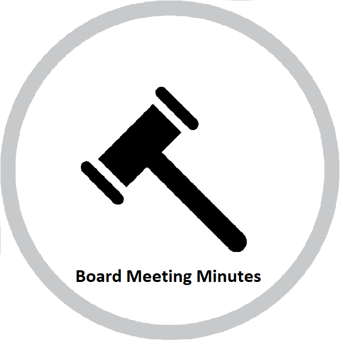 Click for board minutes