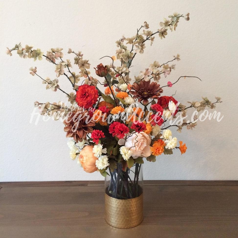 Fall Arrangement Red Brown Yellow Orange Floral WM.jpg