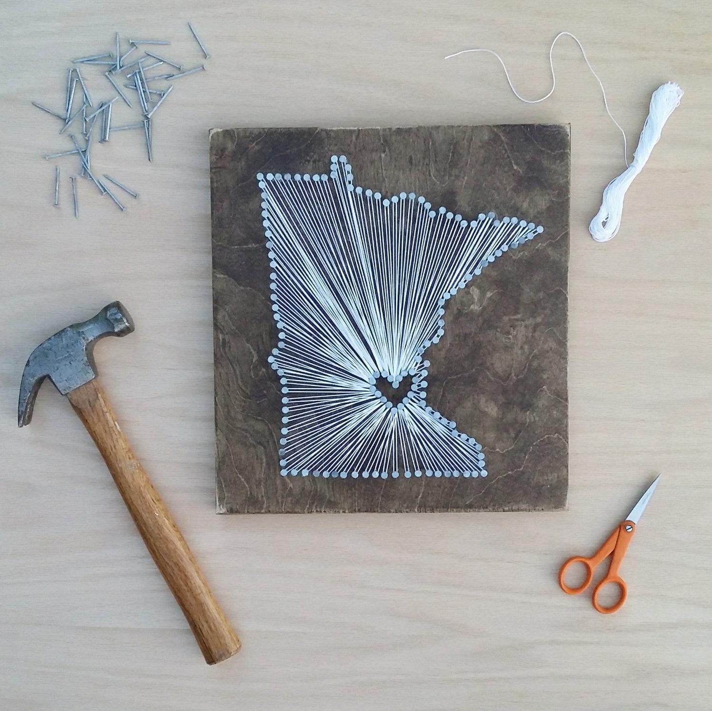 State string art diy kit witheyesunlocked state string art diy kit freerunsca Images