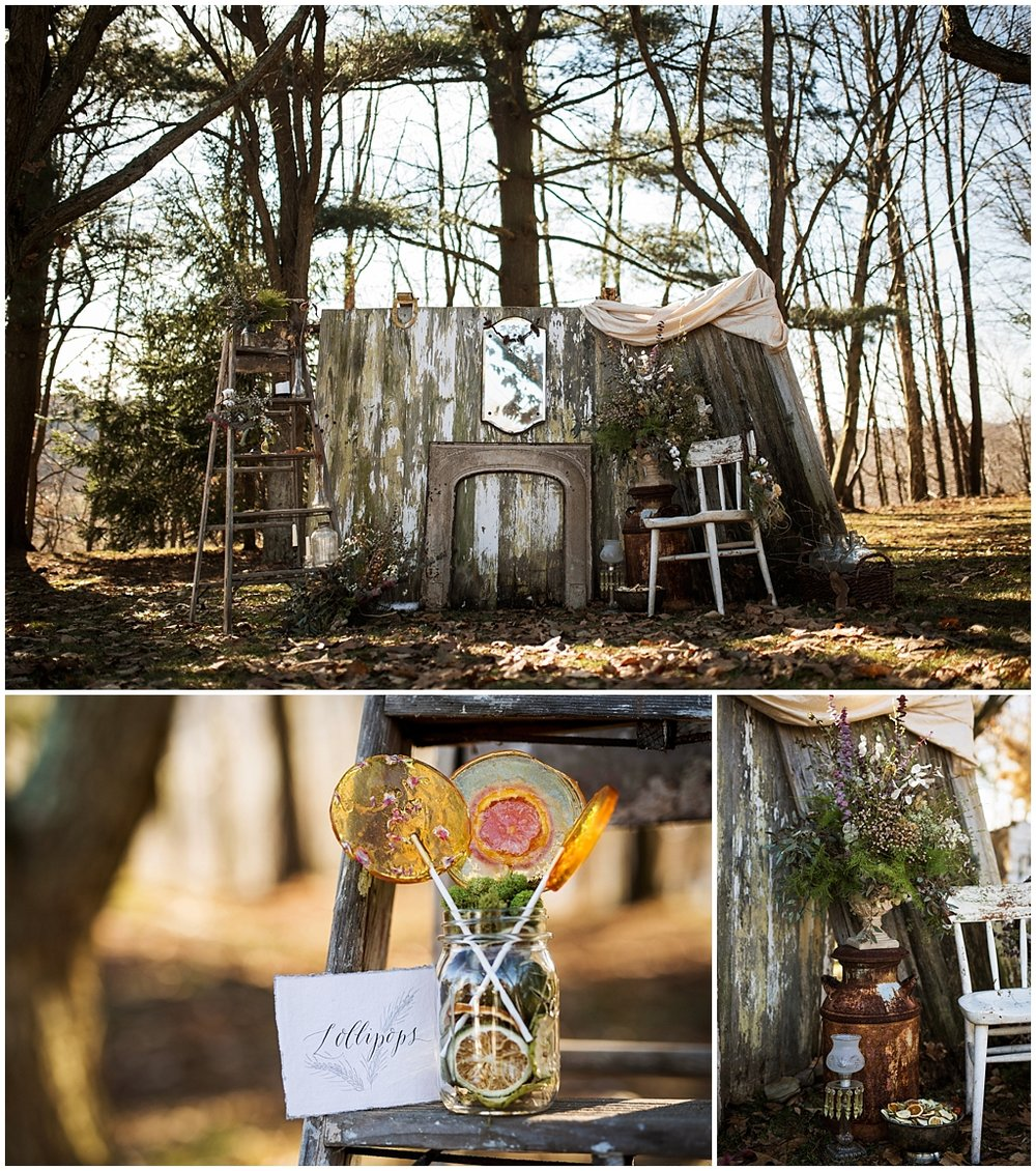 winter wedding styled photoshoot pittsburgh pennsylvania details1