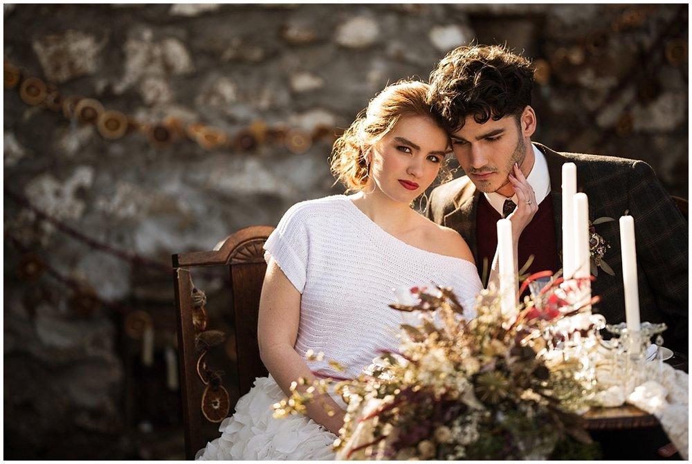 winter wedding styled photoshoot pittsburgh pennsylvania look two couple