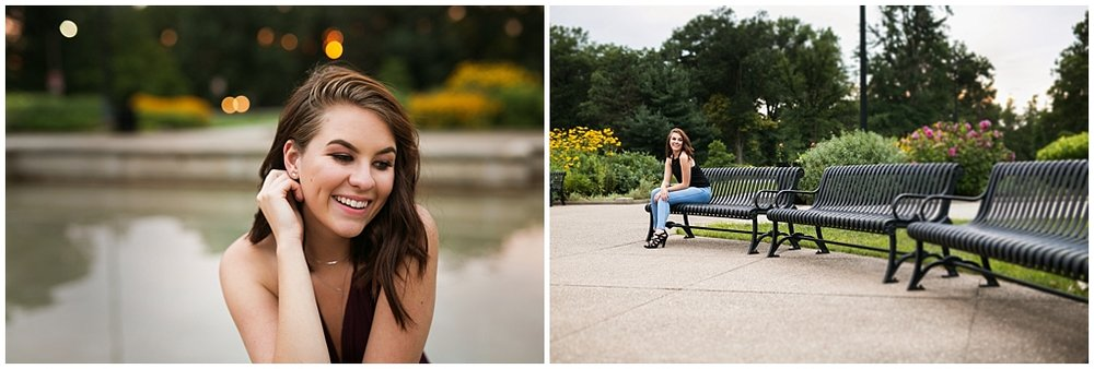 2018 Victoria Irene Photography Senior Representative Deitra Individual Senior Session at Highland Park Pittsburgh PA