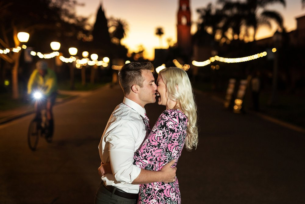 Balboa Park Engagement Session, San Diego California