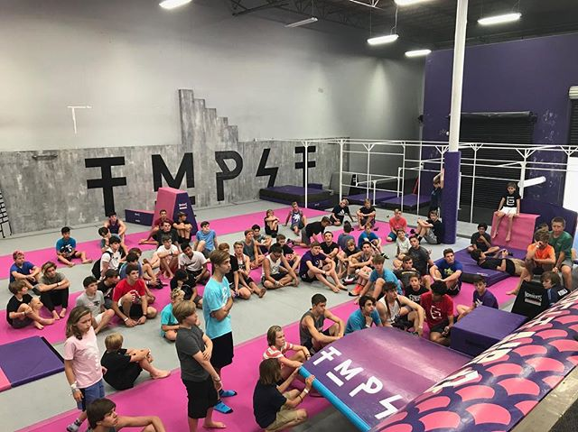 This past weekend saw the dopest #gtramp talent on the planet join up for the #gtrampgames in San Diego! Some of the baddest humans to ever hit a trampoline popped in for a sesh at #TempestNorthCounty and left us in awe. 😮 Tag yourself or a homie of you were there & thanks for coming through! #tmpst #fullhouse #tempestacademy