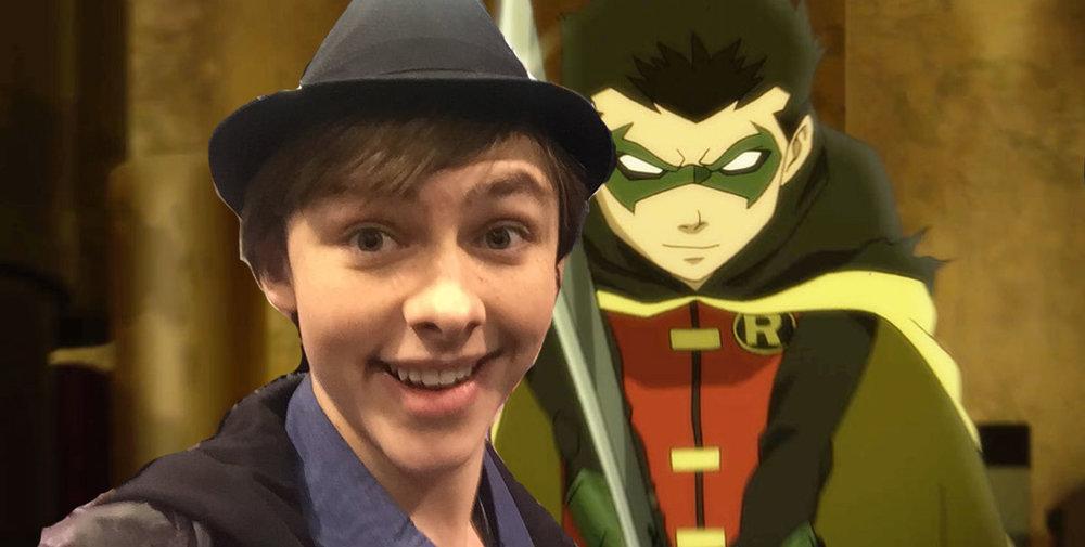 Stuart Allan Voice of Damien Wayne/Robin in Son of Batman Series.