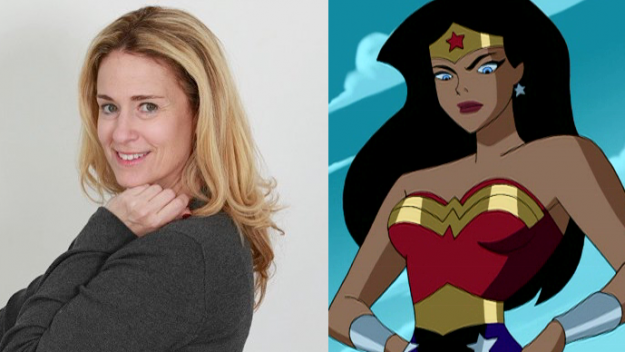 Susan Eisenberg Voice of Wonder Woman from Justice League Unlimited.