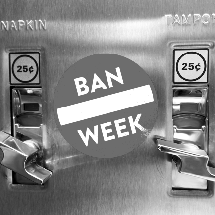 BAN CHARGING FOR TAMPONS IN PUBLIC RESTROOMS November 17, 2017 / SPLINTER NEWS
