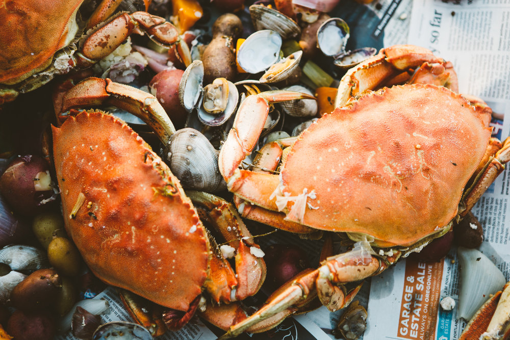 The Nightwood Society crab boil