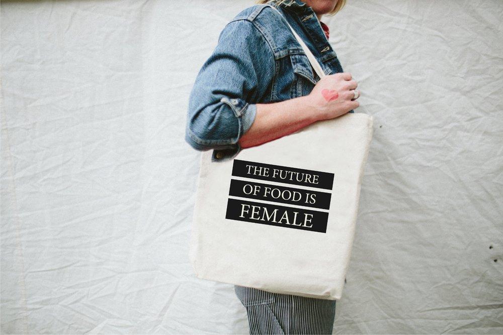 Future of Food is Female Tote