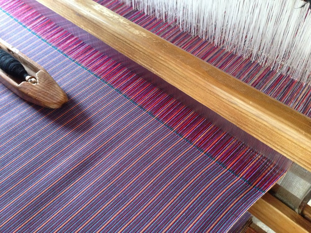 "A weaving loom at ""Sagada Weaving"""