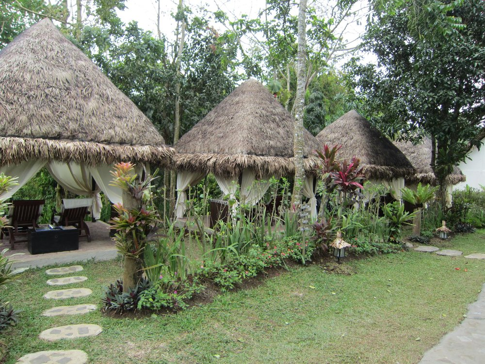 Massage huts