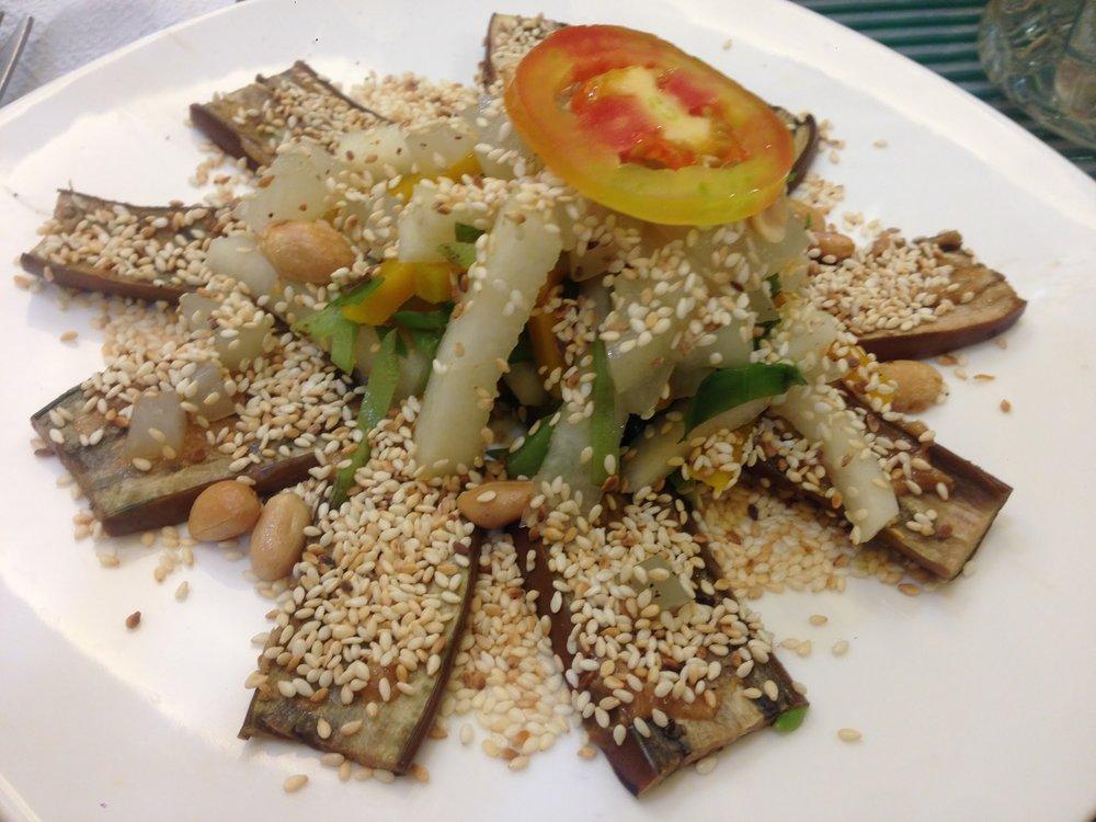 Bahay Kubo salad