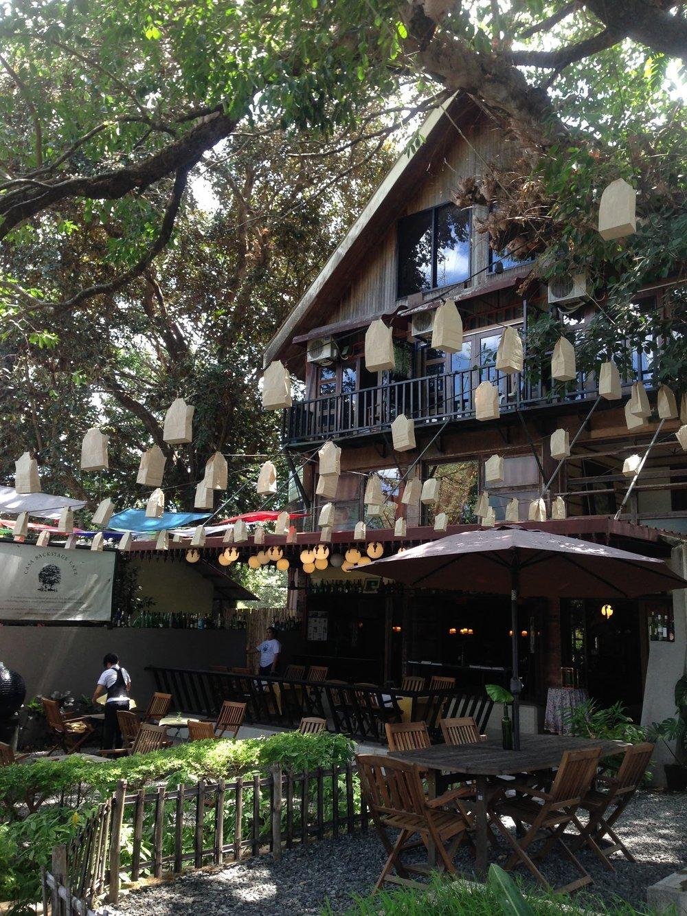 Cafe at Casa San Miguel