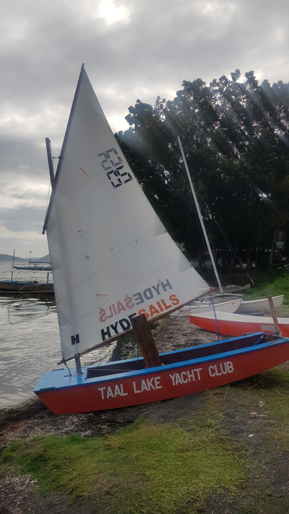 The Goose sailboats for children to learn on