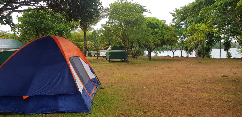 Our camping spot